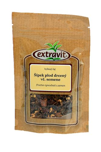 Šípek - plod drcený včetně semene